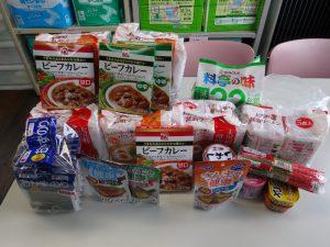 食糧支援写真